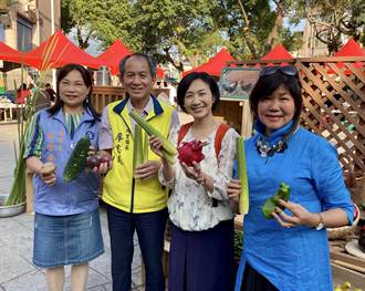 埔里「蔬食生活節」壓軸辦桌 樂迎祈安清醮