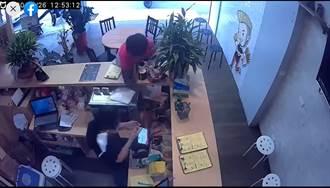 外送哥怒砸餐點呼巴掌下場慘 被女店員告還被熊貓炒