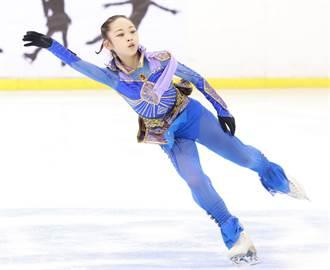 三周跳完美落地 蔡玉鳳藝術滑冰封后