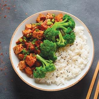 青花燒豆腐
