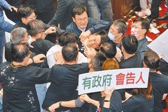 民進黨譏幫派下水湯 國民黨回嗆做賊抓賊