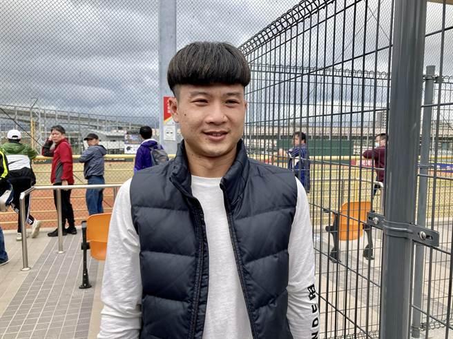 富邦悍將投手賴鴻誠透過FA轉隊至樂天桃猿。(資料照/鄧心瑜攝)