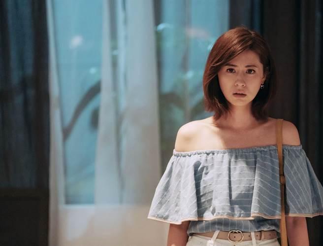 林予晞劇中很想婚,戲外自認崇尚精神性象徵。(HBO Asia提供)