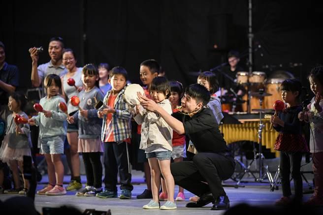 2020藝術進區活動進入最終回吸引超過4000位大小朋友到場同樂。(台南市文化局提供/曹婷婷台南傳真)