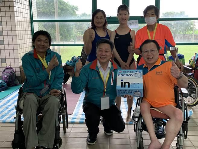 全國身心障礙國民運動會正在台東縣舉辦,台南市田徑代表隊首日摘下7金破5項大會紀錄。(台南市教育局提供/曹婷婷台南報導)