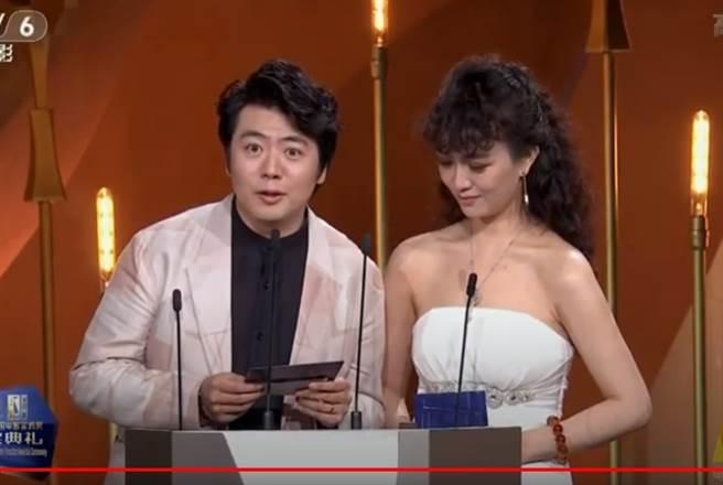 郎朗頒獎出現小插曲。(取自CCTV6 YouTube)