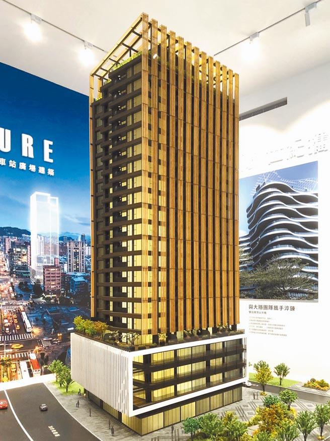 大隱團隊作品細膩,「信松廣場」由屢次獲得豪宅建築大獎建築師李天鐸操刀。(甲桂林提供)