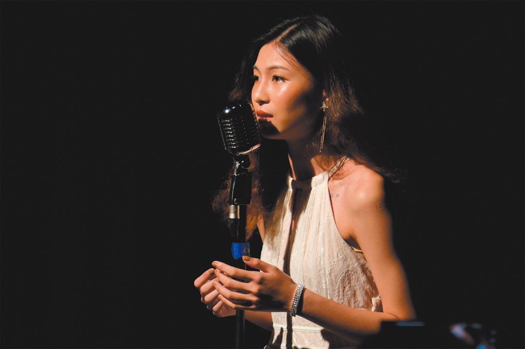 黎明技術學院表演藝術系音樂組李品瑩同學。     圖╱黎明技術學院影視傳播學系提供