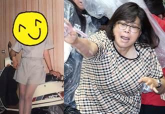 王美惠捨身護蘇被砸內臟 21歲嫩照曝 戰神變美腿女神