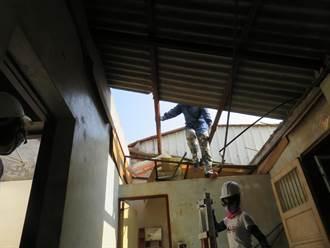 歲末送暖 台積電加入台灣世展會弱勢兒少家庭修繕