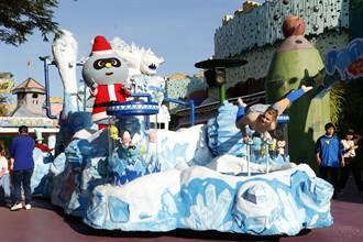麗寶渡假區滿滿耶誕驚喜 全新特技遊行花車會飄雪