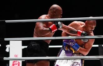 拳擊》鐵拳沒生鏽 泰森8回合戰平小瓊斯