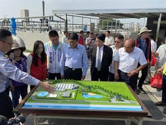 屏东最大的水质净化场今启用 每天可处理1万公吨废污水