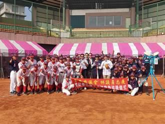 善化國中棒球隊經費不足 議員林志展慷贈全新發球機