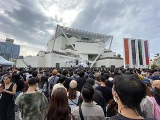 2天湧10萬人 台南最美「森山市集」擠到寸步難行