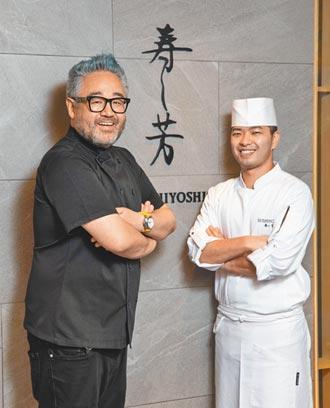 寿司芳秋限定大闸蟹菜单上桌