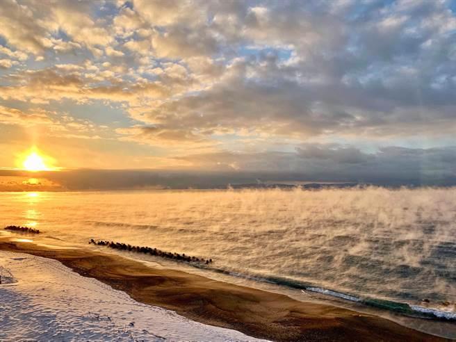 受疫情影響,國人近期內都無法到函館欣賞津輕海峽美麗的風景。(翻攝照片/林郁平台北傳真)