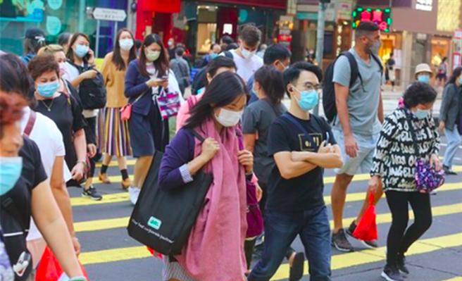 香港新冠肺炎第4波疫情嚴重。(取自東網)