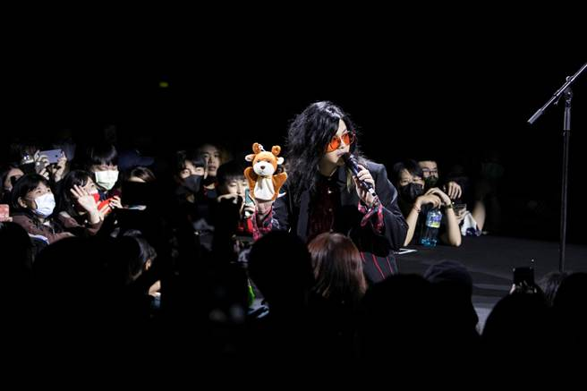 麋先生28日在Zepp New Taipei舉行「嗜愛動物」巡迴演唱會。(相信音樂提供)