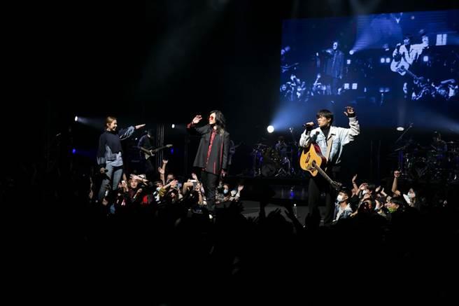 麋先生28日演唱會,請來告五人擔任嘉賓。(相信音樂提供)