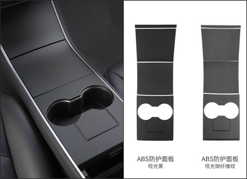 舊款 Model 3「消光黑」中控裝飾配件動手貼:5XX 元換上清爽簡潔新內裝