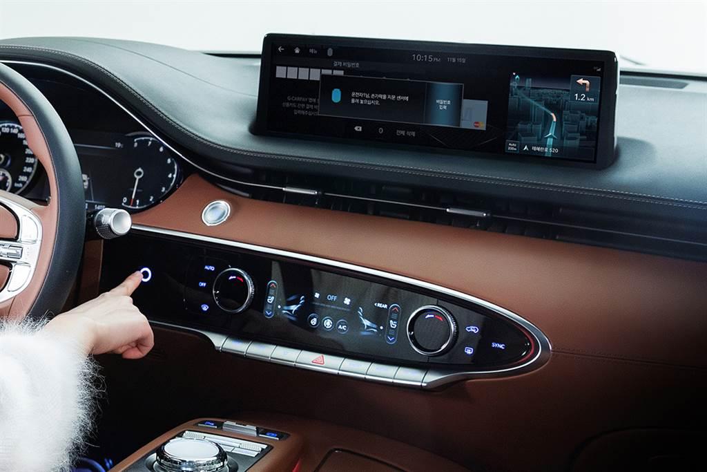首創進階版指紋辨識系統與後座物體感知器,Genesis 釋出 GV70 多項獨家配備!