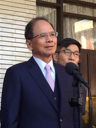 盧秀燕突襲AIT反萊豬 游錫堃:外交表現應該更有禮貌一點