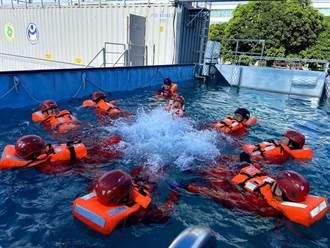 金屬中心與海洋重工攜手打造「離岸風電」產業船員訓練課程