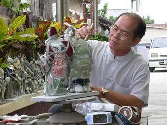 台南市再添4位人間國寶 泥塑、剪黏、玉雕、木雕各有千秋