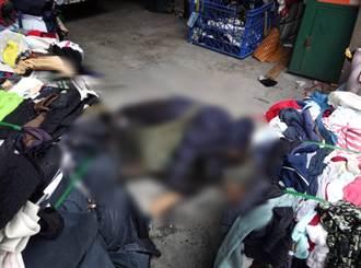 男子凌晨潛入回收廠翻找 遭衣物重壓身亡