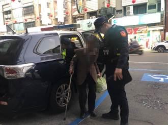 99歲人瑞搭錯車迷航 北港警化身柯南助返家