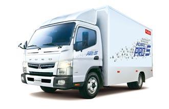 FUSO堅達5噸小貨車 年終添好運