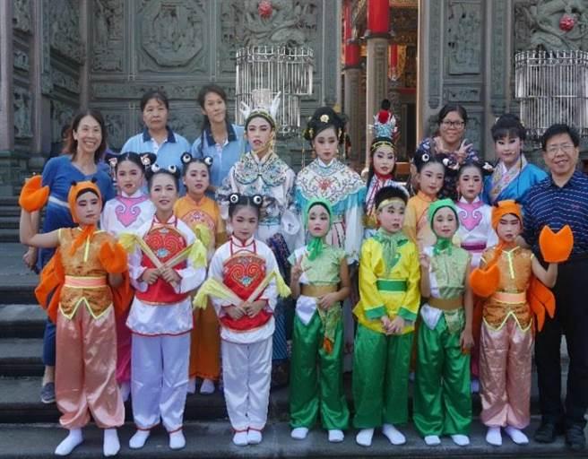 嘉寶國小的學生也將參與演出。(林品區公所提供/新北傳真)