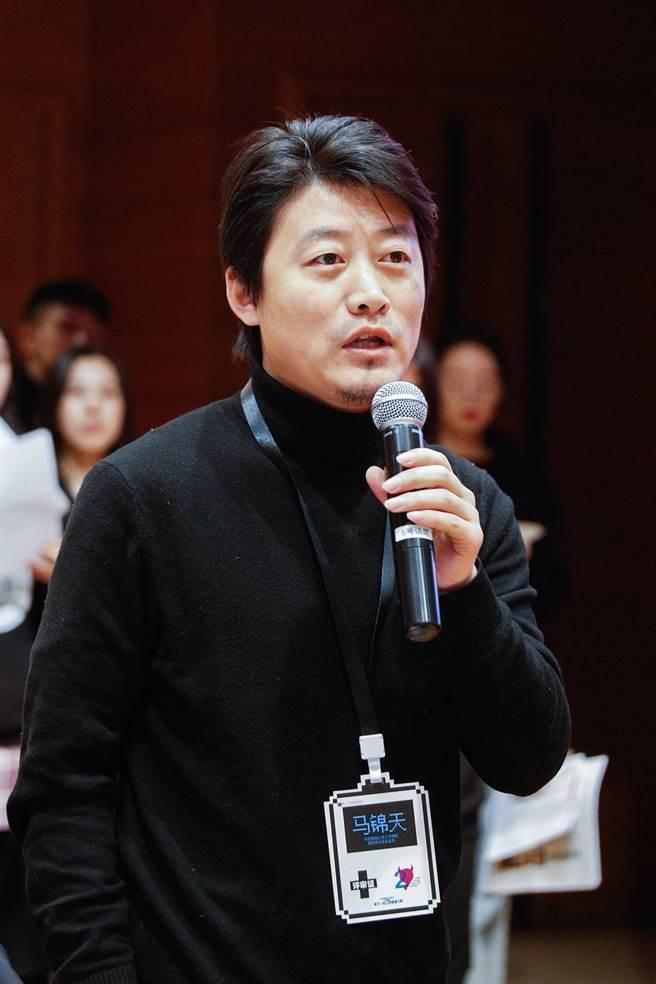 評審團副主席 馬錦天。(圖/時報金犢獎組委會提供)