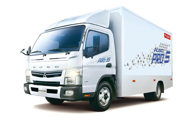 裕益汽車響應政府新制法規,率先推出FUSO PRO 5堅達5噸小型貨車,不但稅金省,而且動力輸出強勁又環保!圖/業者提供