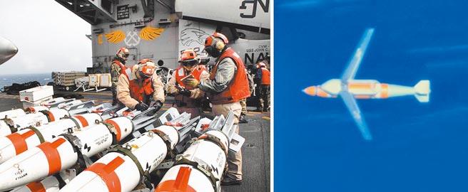 美軍「迅擊」增程型智慧水雷Quickstrike-ER。(取自美國海軍網站)