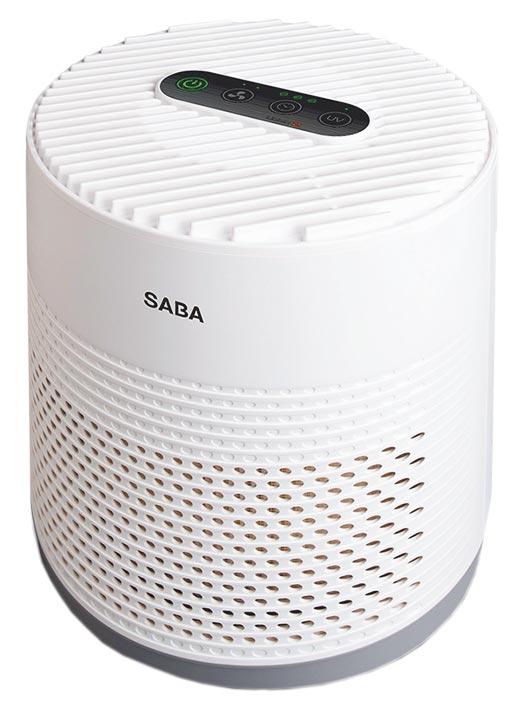 由邱馨慧推薦的SABA抗過敏空氣清淨機,4990元。(有好物提供)