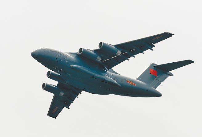 解放軍運-20重型運輸機。(新華社資料照片)