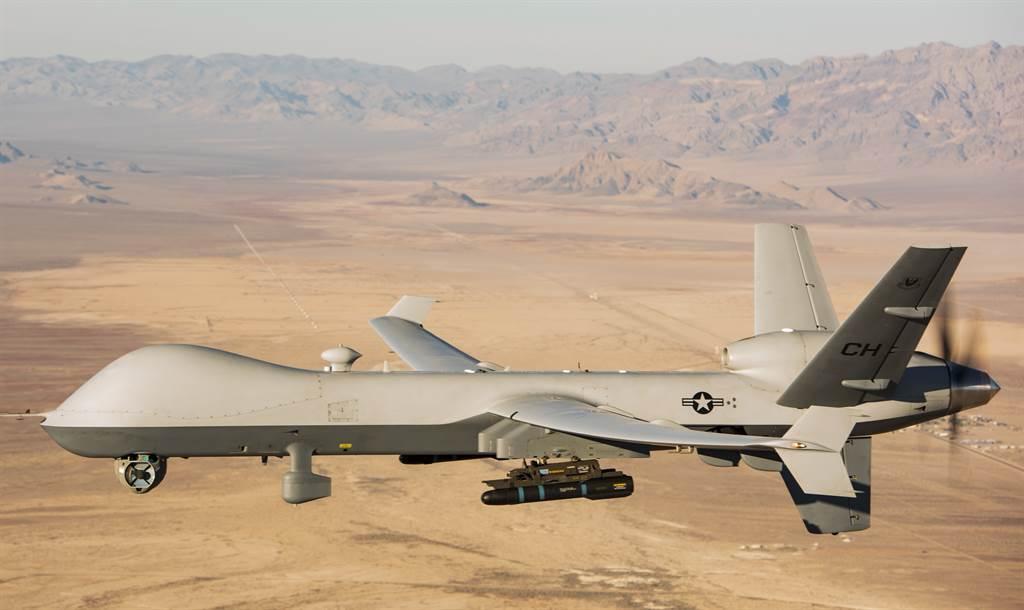 美國中情局年初曾出動MQ-9「死神」(Reaper)無人機,在巴格達國際機場附近發動攻擊,將伊朗聖城部隊指揮官蘇雷曼尼的座車打得稀爛。(美國空軍)