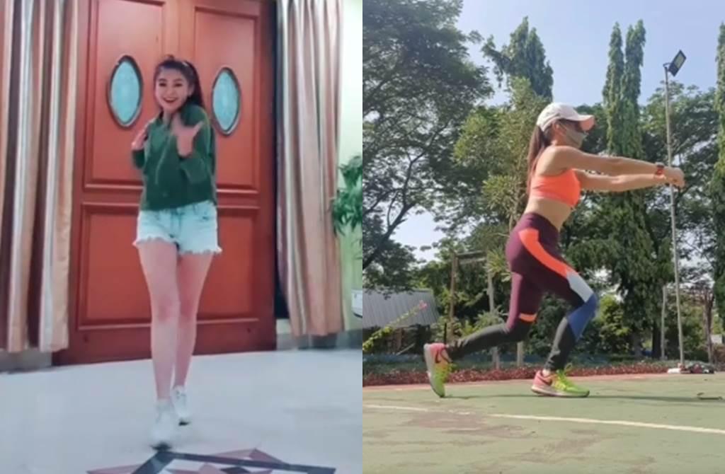 Puspa Dewi常分享熱舞、健身照片。(圖/翻攝自puspadewihc IG)