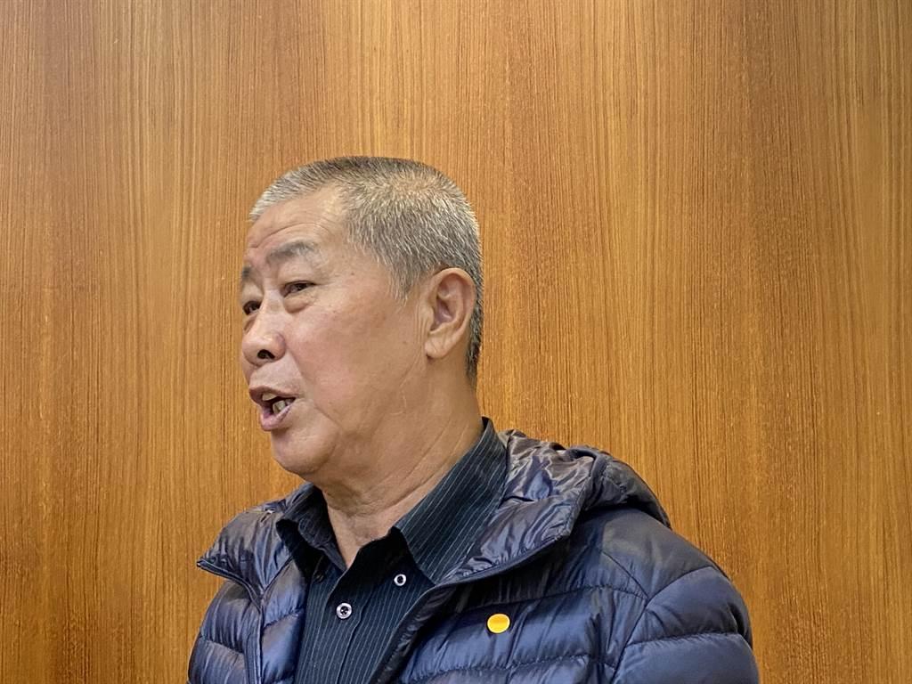 雲林縣養豬協會理事蔡德福。(李柏澔攝)
