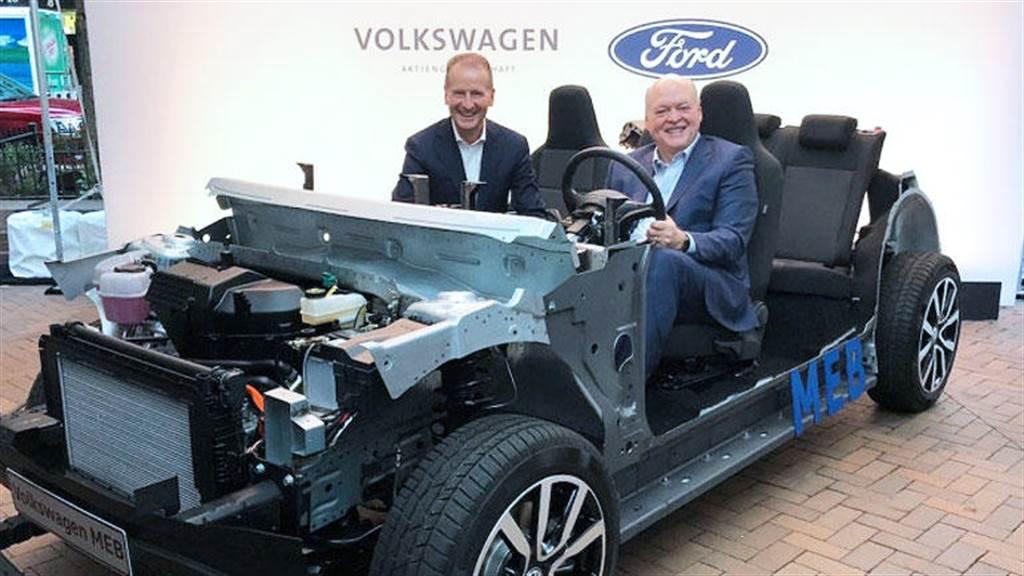 福特 x 福斯攜手於德國生產 MEB 平台電動車:六年內要在歐洲賣出 60 萬輛!