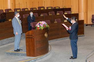 新屋議員涉貪入獄 陳睿生遞補就職允諾「2年當4年拚」