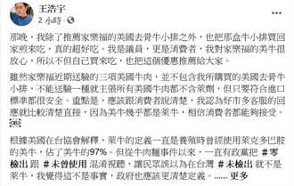 稱家樂福賣瘦肉精牛 罷王總部舉發王浩宇