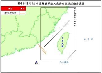 共機運-8反潛機騷擾西南空域 遭防空飛彈追監