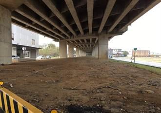 照顧地方需求 平鎮台66橋下空間預計設置獨輪車比賽練習場地