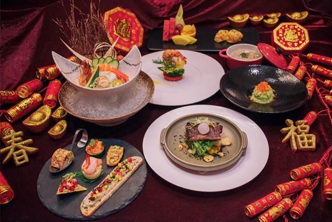 礁溪山形閣除夕當晚推出6人圍爐家宴,每人1680元+10%就能訂桌。圖/山形閣