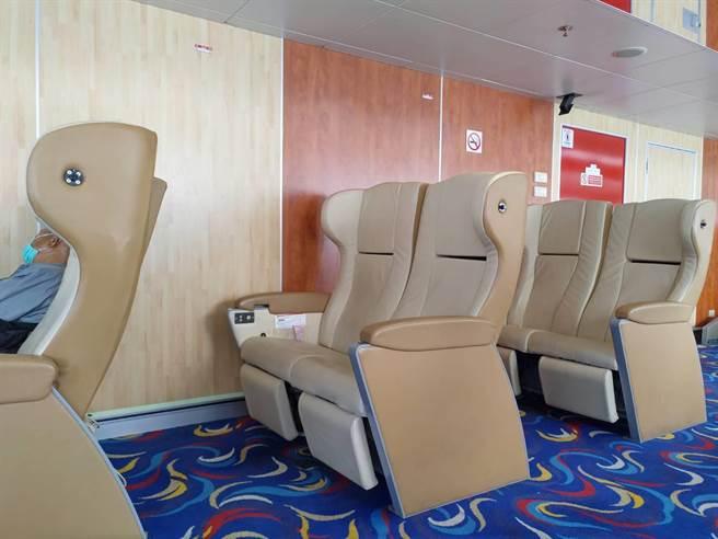 南市府觀旅局將於明年春節推出麗娜輪「安平-澎湖」航班。(觀旅局提供/李宜杰台南傳真)