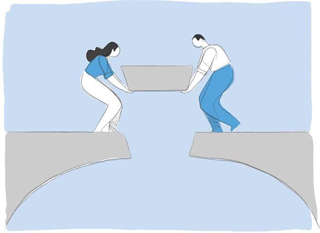 夢想的開始 搭一座愛的橋樑。(圖/達志影像shutterstock提供)