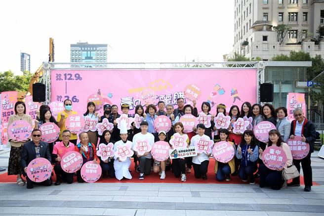 台中市今年第二屆台中購物節創造90億元經濟產值,打鐵趁熱再推出「2020台中女麗購」。(盧金足攝)